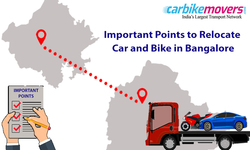 Points to Remember While Relocating Your Car and Motor Cycle Together from Bangalore