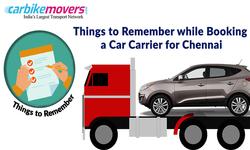 When to book the car carriers in Chennai