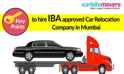 Key Advantages of Hiring IBA Approved Car Relocation Company in Mumbai