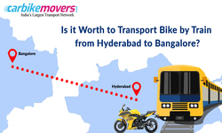 Bike transport from Hyderabad to Bangalore by train cost and everything else you need to know about it