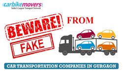 Best Tips for Avoiding Fraud Car Transportation in Gurgaon Companies