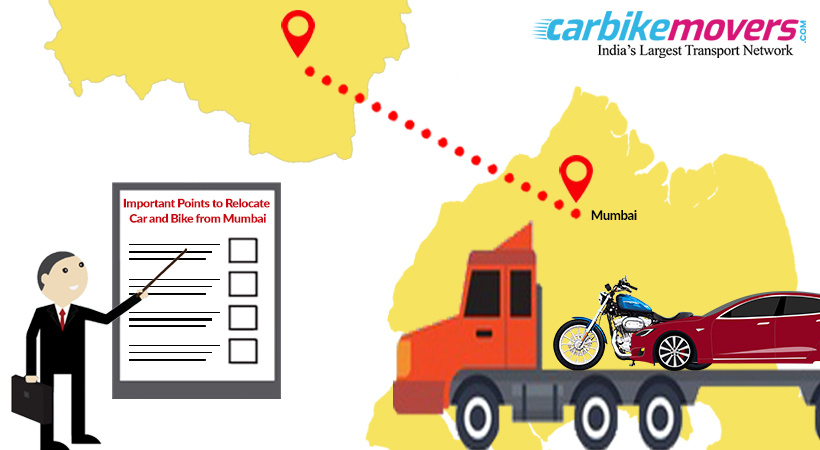 Useful Tips to Relocate Car and Bike Together from Mumbai
