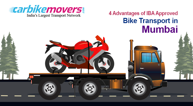 4 Main Advantages of Hiring an IBA Approved Bike Transport in Mumbai