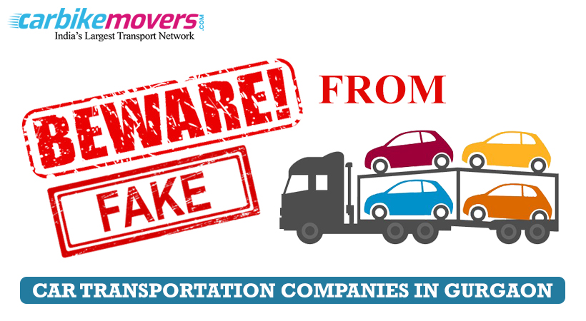 Best Tips for Avoiding Fraud Car Transportation in Gurgaon Companies