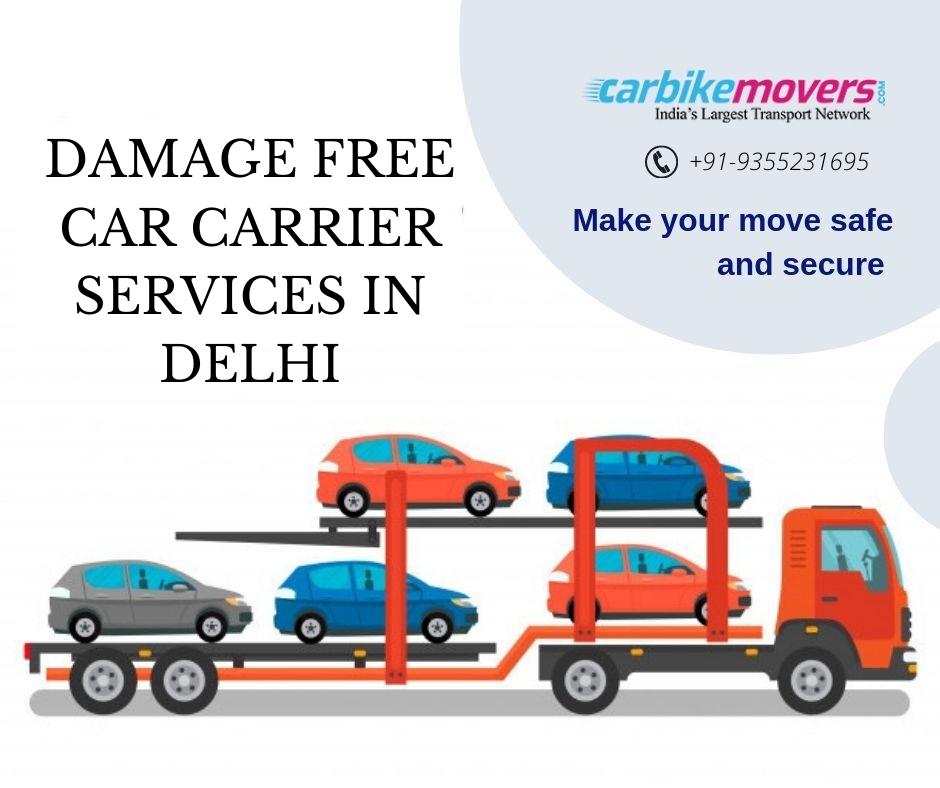 Damage-Free Car Carrier Services in Delhi