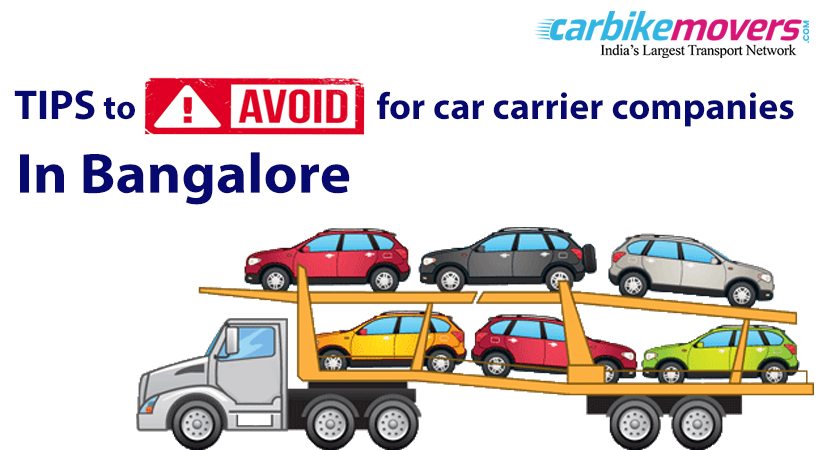 Tips to Negotiate While Looking for Car Carrier company in Bangalore