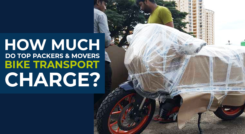How much do Top Packers and Movers Bike Transport Charge?